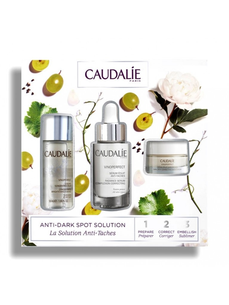 CAUDALIE PROMO VINOPERFECT SERUM 30ml & VINOPERFECT ESSENCE 50ml & VINOPERFECT CREAM 15ml