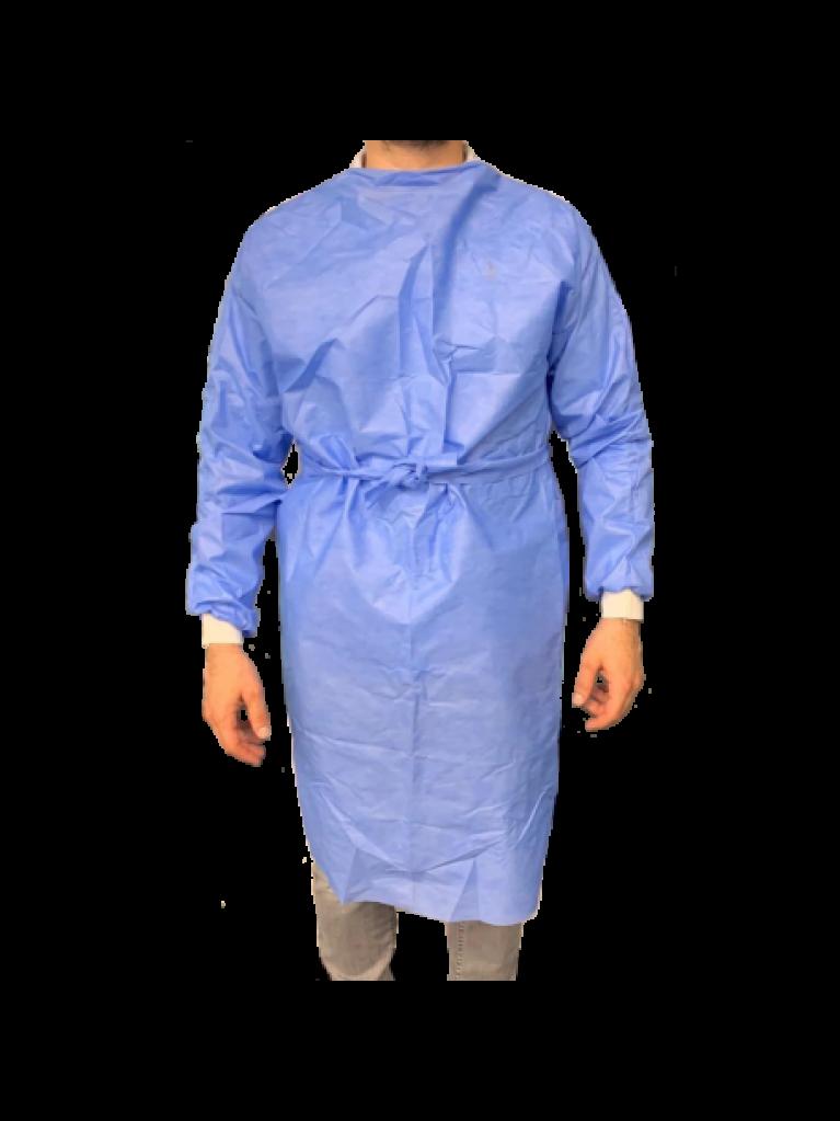 Χειρουργικές ρόμπες μπλε, μίας χρήσης - 1τμχ