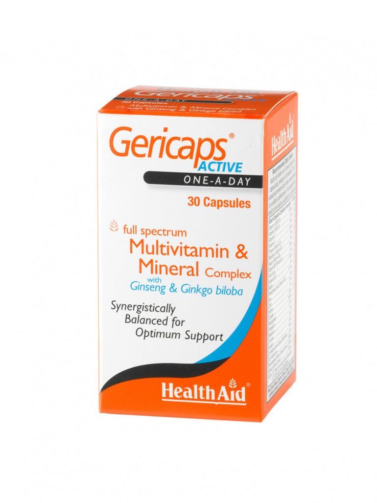 HEALTH AID Gericaps ACTIVE-multi 30caps