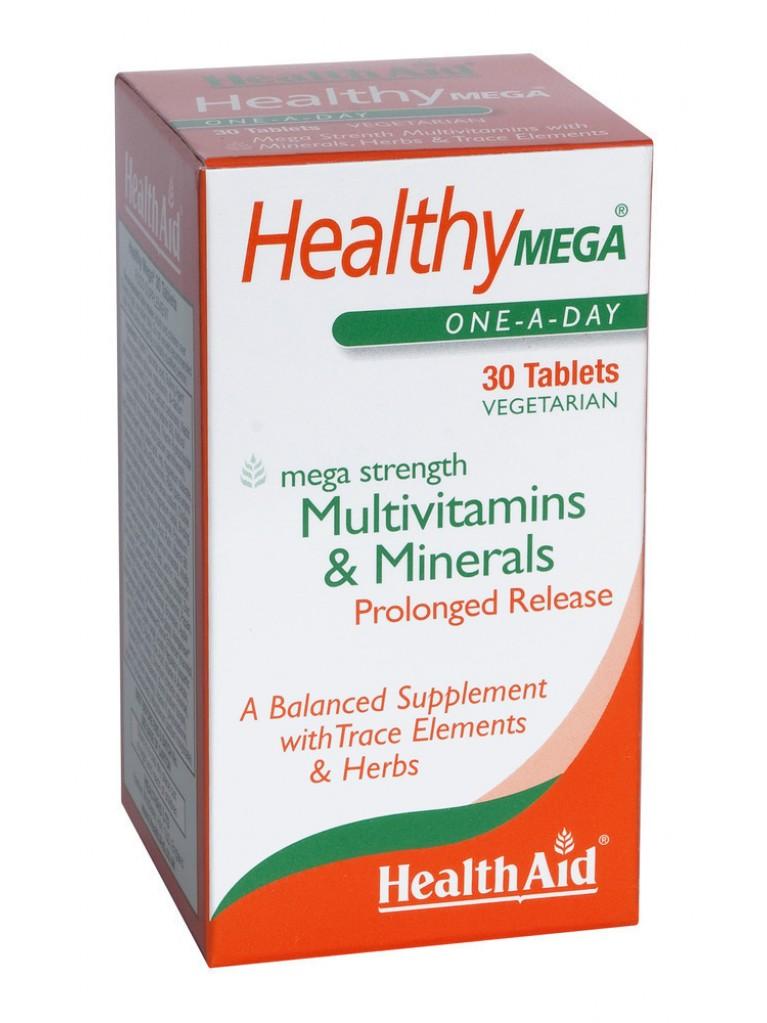 HEALTH AID Healthy MEGA - Μultivit 30tabs