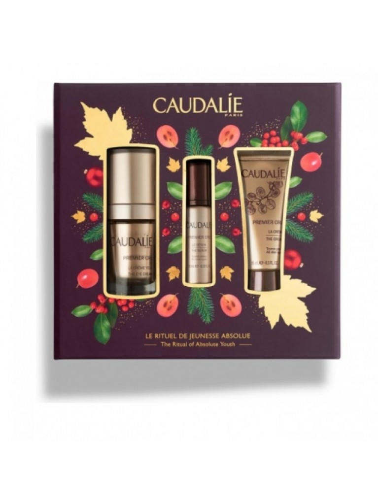 Caudalie Promo Premier Cru Eyes Contour 15ml & Premier Cru Serum 10ml & Premier CruCream 15ml
