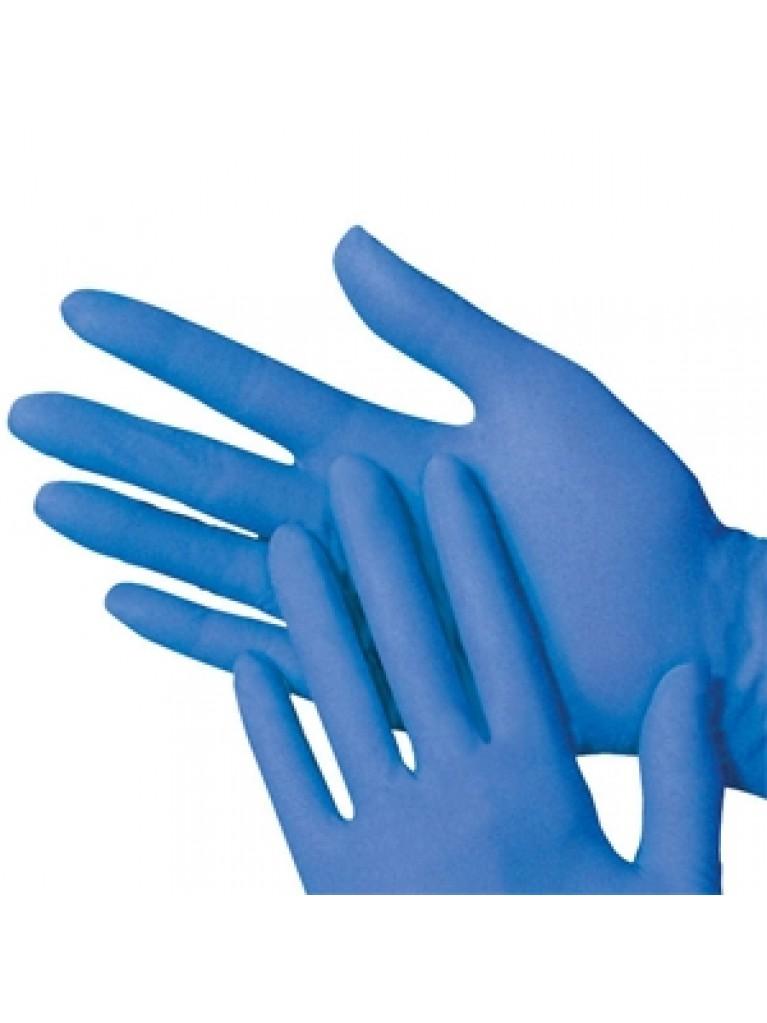 Alfa Gloves Γάντια Νιτριλίου Μιας Χρήσεως Χωρίς Πούδρα 7-7,5 100τεμάχια