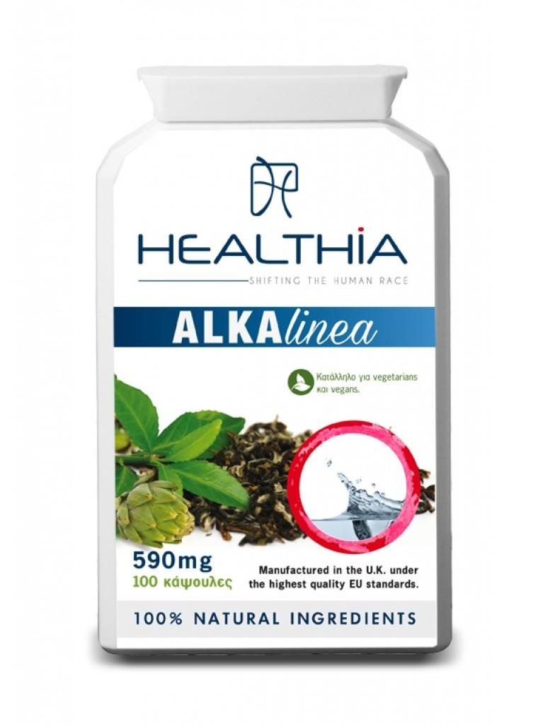 HEALTHIA Alkalinea 590mg,100 caps