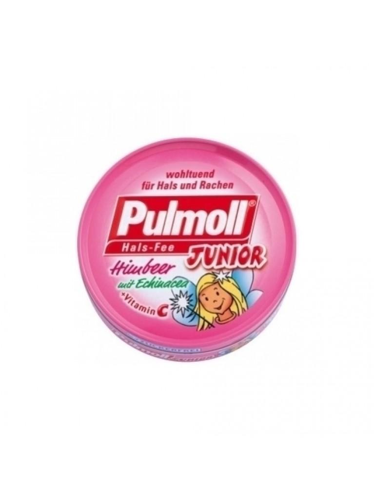 Pulmoll Junior Καραμέλες Βατόμουρο & Εχινάτσια 45gr