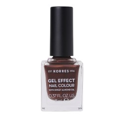 Korres Gel Effect Nail Colour With Sweet Almond Oil No.61 Seashell 11ml