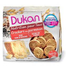DUKAN Crackers Βρώμης με Παρμεζάνα 100gr