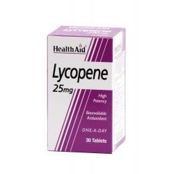 HEALTH AID LYCOPENE 25MG 30CAP