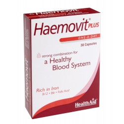HEALTH AID HAEMOVIT PLUS BLISTER 30CAP