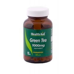 HEALTH AID GREEN TEA EXTRACT 1000MG 60TAB