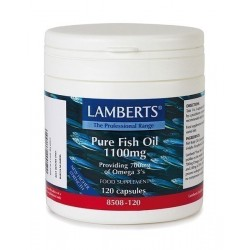 LAMBERTS PURE FISH OIL 1100MG 120CAPS