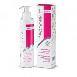 Tecnoskin Antioxidant Sensitive Clean Gel, Αντιοξειδωτικό Gel Καθαρισμού & Demaquillage 200ml