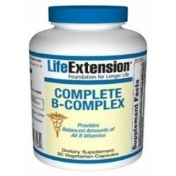 LIFE EXTENSION COMPLETE B COMPLEX 180C