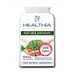 HEALTHIA Natura Premium 550mg, 100 caps