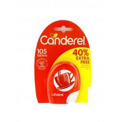 Canderel Ζαχαρίνη 105Τ 40% Extra (8,9gr)