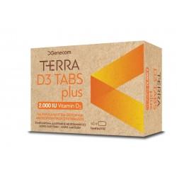 Genecom Terra D3 Tabs Plus 2.000IU 60Tabs