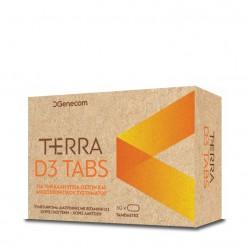 Genecom Terra D3 1.200IU Tabs 60 Tabs