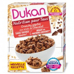 DUKAN Δημητριακά (Clusters) Με Κομμάτια Σοκολάτας 350gr