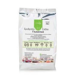 NOCARB Noodle Κρυσταλλική Στεβια+ερυθριτόλη 1:1 (Stevia+Erythritol)  250γρ.