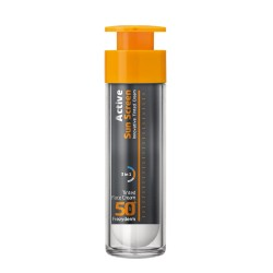 FREZYDERM Active Sun Screen Tinted Face Cream SPF50+ 50ml