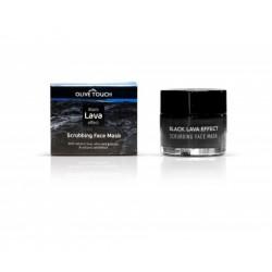 OLIVE TOUCH Black Lava Effect Μάσκα Προσώπου 50ml